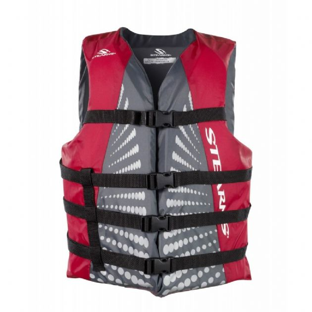 Stearns Adult Classic Oversized life jacket, life vest for water sports - Grasshopper Leisure